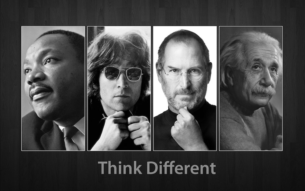 campagna Think Different Apple