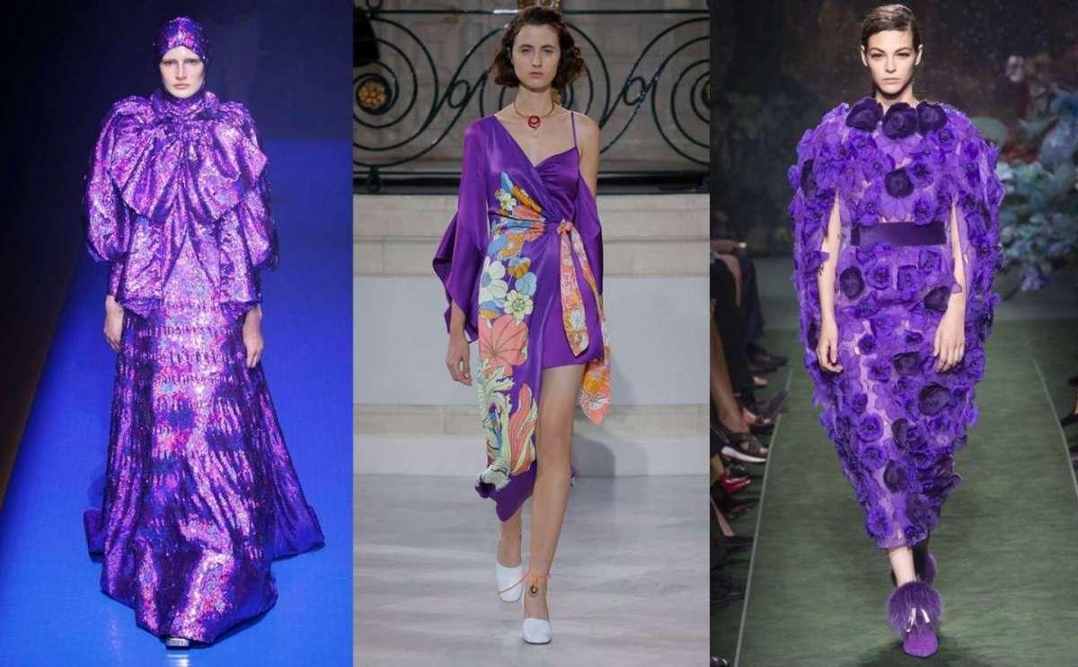 Ultra Violet colore di moda nel 2018