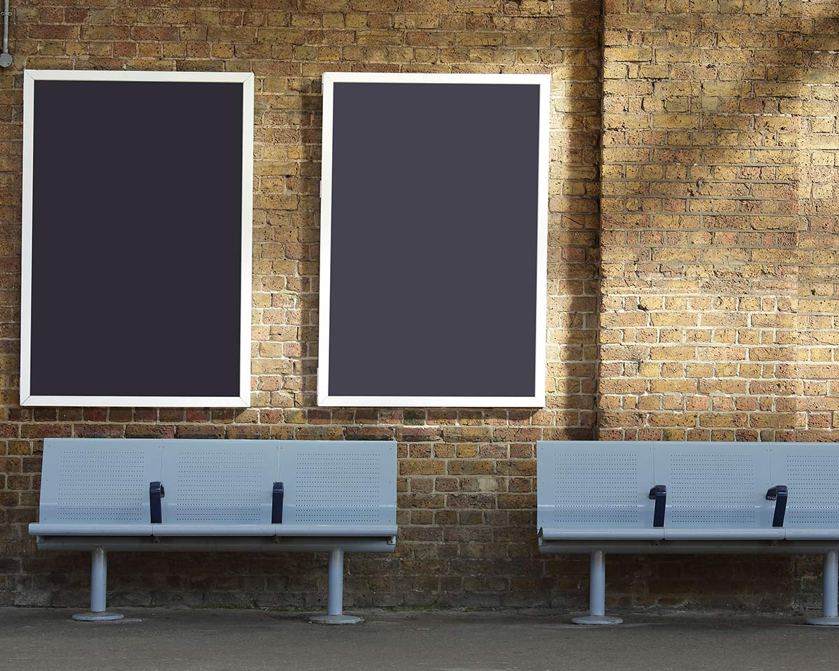 Poster per campagne pubblicitarie
